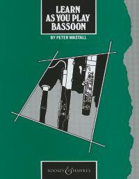 Learn As You Play Bassoon (englische Ausgabe)