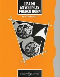 Learn As You Play French Horn (englische Ausgabe)