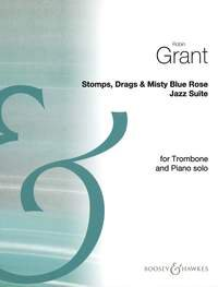 Stomps, Drags & Misty Blue Rose