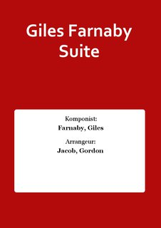 Giles Farnaby Suite