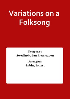 Variations on a Folksong