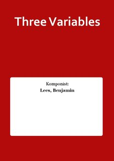 Three Variables