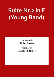 Suite Nr.2 in F (Young Band)