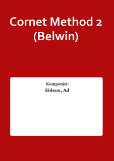 Cornet Method 2 (Belwin)