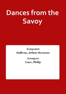 Dances from the Savoy