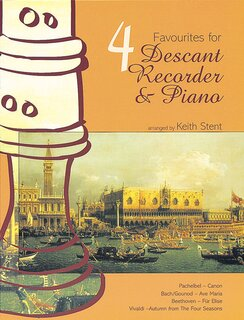 Four Favourites For Descant Recorder & Piano