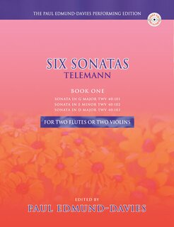 Six Sonatas by Telemann Band 1