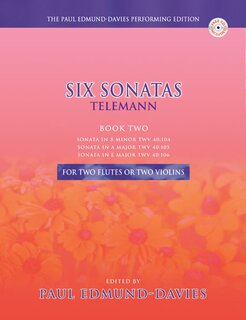Six Sonatas by Telemann Band 2