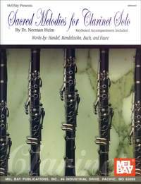 Sacred Melodies for Clarinet Solo