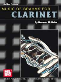 Music of Brahms for Clarinet
