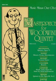 Masterpieces for woodwing quintet