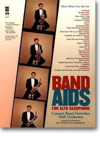 Band aids for alto-saxophone