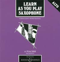 Learn As You Play Alto-Saxophone (englische Ausgabe)
