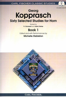 Sixty Selected Studies for Horn