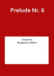 Prelude Nr. 6