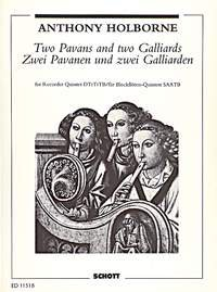 2 Pavans and 2 Galliards