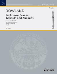 Lachrimae Pavans, Galiards and Almands Vol. 4
