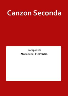 Canzon Seconda