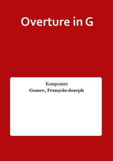 Overture in G