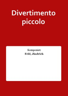Divertimento piccolo