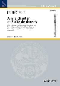 Airs à chanter et Suites de danses