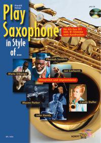 Play Saxophone in Style of ...