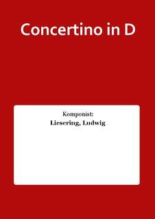 Concertino in D