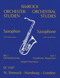Orchesterstudien Band 1