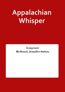 Appalachian Whisper