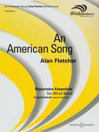 An American Song - Partitur