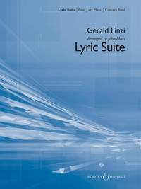Lyric Suite - Partitur