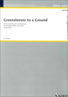Greensleeves to a Ground - Einzelstimme