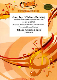 Jesu, Joy Of Mans Desiring - Partitur + Stimmen