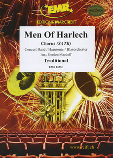 Men Of Harlech - Partitur + Stimmen
