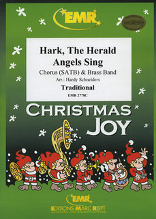 Hark, The Herald Angels Sing - Partitur + Stimmen