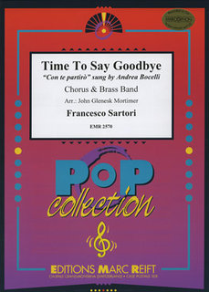 Time to say Goodbye/Con te partirò - Partitur + Stimmen