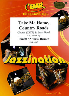 Take Me Home, Country Roads - Partitur + Stimmen