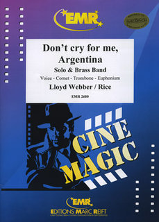 Dont cry for me, Argentina (Solo Voice)