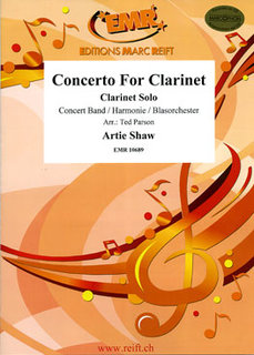 Concerto For Clarinet (Clarinet Solo)