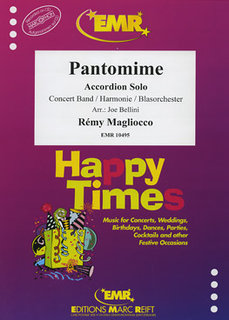 Pantomime (Accordion Solo)