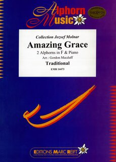 Amazing Grace (2 Alphorns in F)