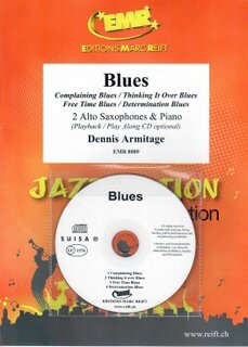 Blues + CD (2 Alto Saxophones)