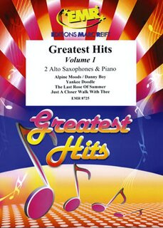 Greatest Hits Volume 1  (2 Alto Saxophones)