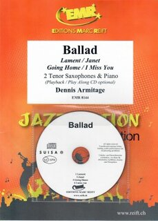 Ballad + CD (2 Tenor Saxophones)