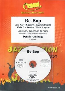 Be-Bop + CD (Alto Saxophone, Tenor Saxophone)