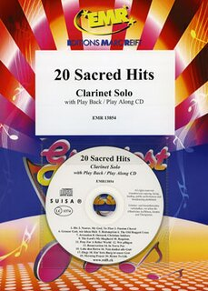 20 Sacred Hits + CD (Klarinette)