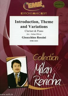 Introduction, Theme and Variations (Klarinette)