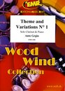Theme and Variations N� 1 (Klarinette)