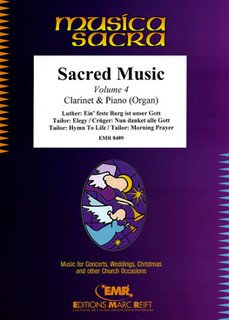 Sacred Music Volume 4  (Klarinette)