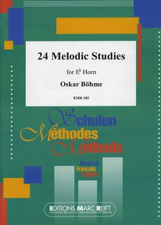 24 Melodic Studies (Horn in Es)